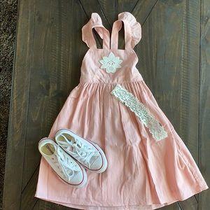 Victoria Beckham 5T pink dress NWT
